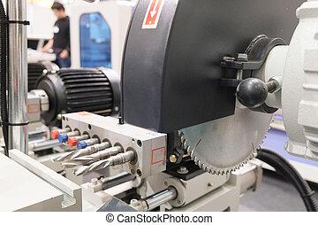 circular saw - The image of a circular saw