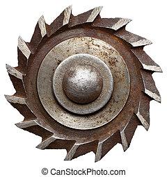 Circular saw blade, isolated