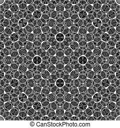 circular seamless repeat abstract