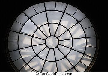 Circular sky light