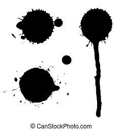 circular splatter set