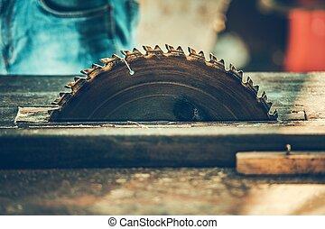 Circular Woodwork Saw
