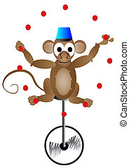 circus acrobat monkey