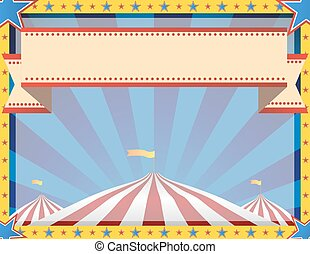 Circus Background Landscape