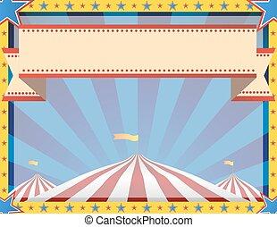 Circus Background Landscape