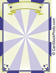circus background2 - A poster on circus theme for your show