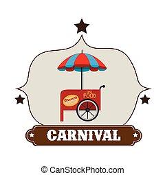 Circus carnival entertainment