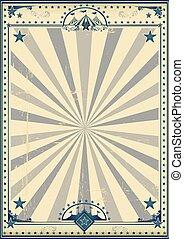 Circus circus vintage poster