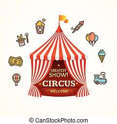 Circus Concept. Vector