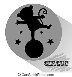 circus entertainment design, vector illustration eps10 graphic