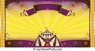 circus extra invitation