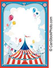circus, frame