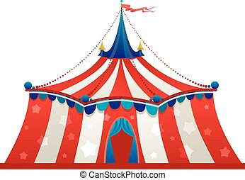 Circus marquee tent