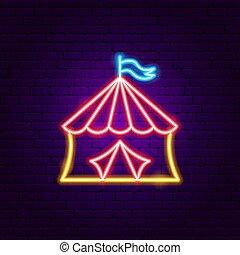 Circus Neon Sign