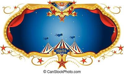 Circus night label