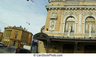 Circus on Fontanka river in Saint-Petersburg