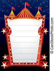 circus, ontwerp