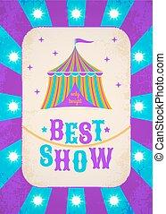 circus, poster