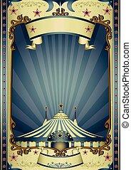 circus, retro, amusement