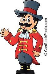 Circus ringmaster theme image 1