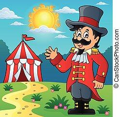 Circus ringmaster theme image 3