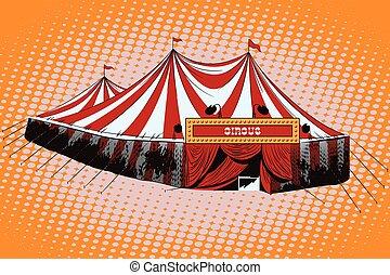 circus, tent.