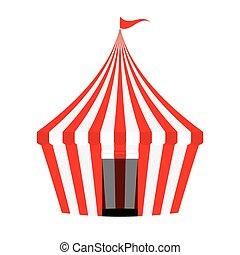 Circus Tent.