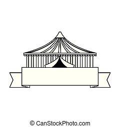 circus tent ribbon