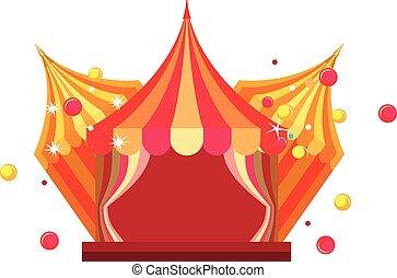 circus tent show