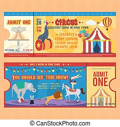 Circus Tickets Templates