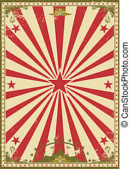 Circus vintage - A retro circus background for your show