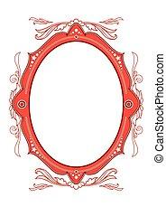 Circus vintage frame