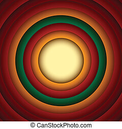 cirkel, abstract, achtergrond