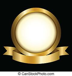 cirkel, goud