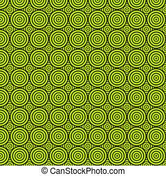 cirkel, groene, textuur