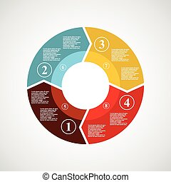 cirkel, infographics.