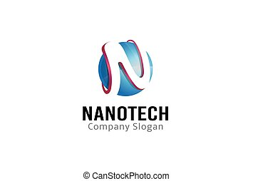 cirkel, konstruktion, nanotech