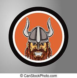 cirkel, mærkaten, vikings