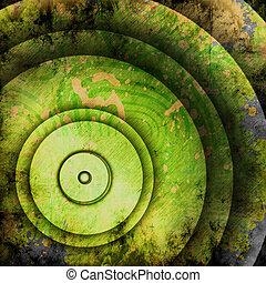 cirkels, abstract, achtergrond