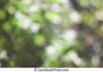 cirkels, abstract, groene, bokeh, achtergrond