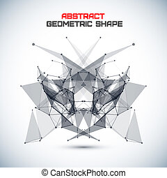cirkels, abstract, lijnen, geometrisch, achtergrond