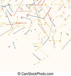 cirkels, abstract, maas, lines., achtergrond, geometrisch