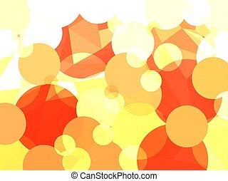 cirkels, abstract, vector, geometrisch, achtergrond