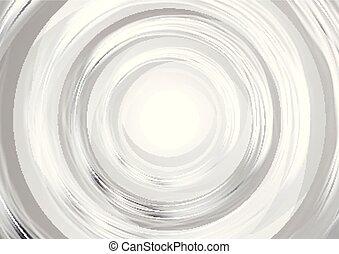 cirkels, achtergrond, abstract, moderne, grijze , iridescent, glanzend