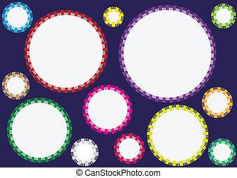 cirkels, achtergrond