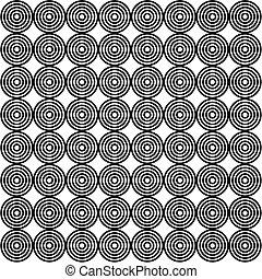 cirkels, behang, -