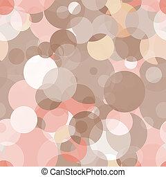 cirkels, eenvoudig, model, -, seamless, vector