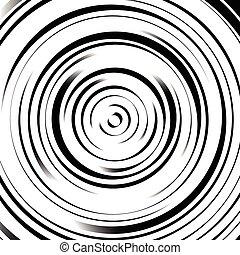 cirkels, effect., model, abstract, onregelmatig, dynamisch,...