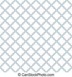 cirkels, geometrisch, pattern., seamless, texture.