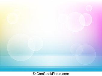 cirkels, kleur, lijnen, achtergrond